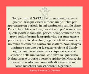 Natale - psicologo psicoterapeuta Torino - Il mio pensiero su...