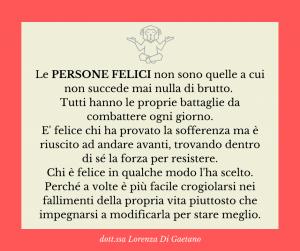 Felicità - psicologa psicoterapeuta Torino